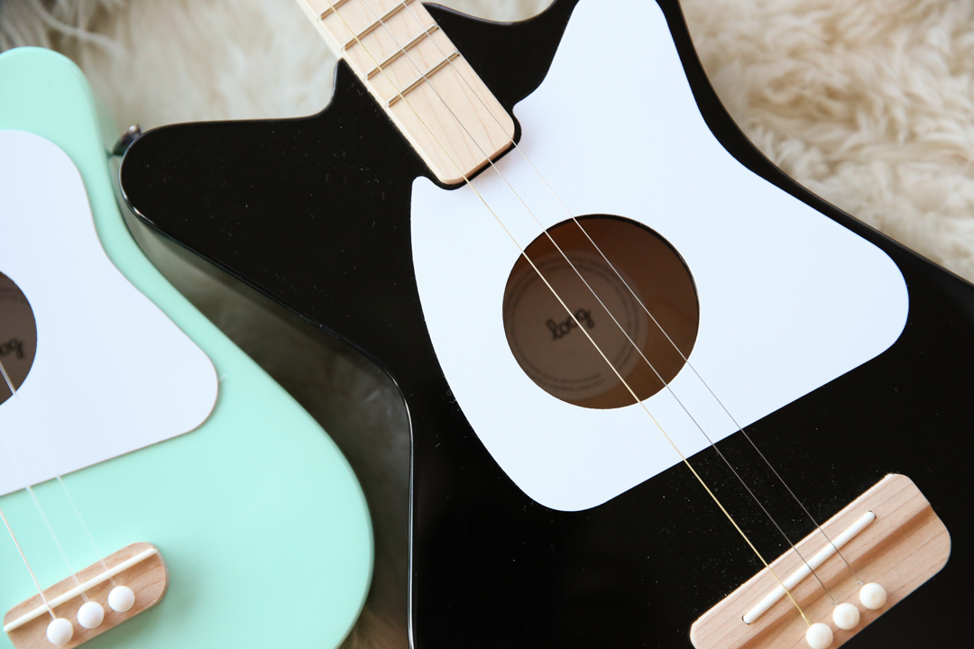 Loog Guitars on Pillow