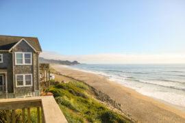 Beach house in oregon